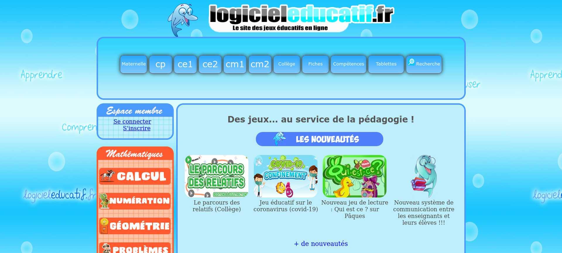Images jeux éducatifs